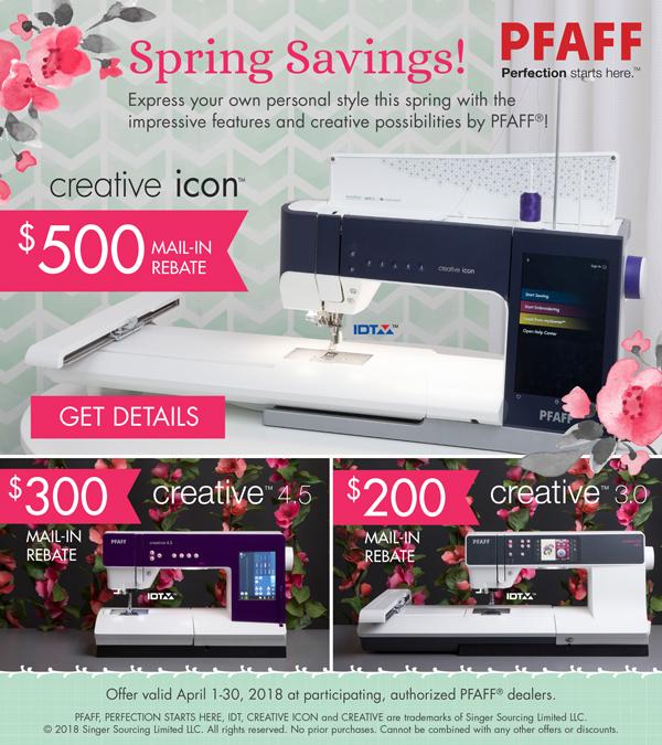 April 2018 - Spring Savings