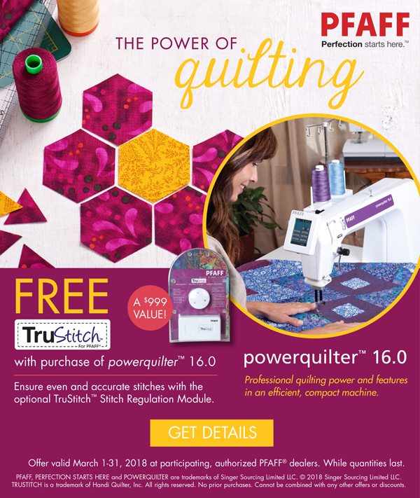 March 2018 - powerquilter