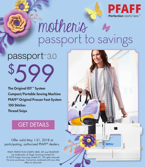 May 2018 - passport to savings