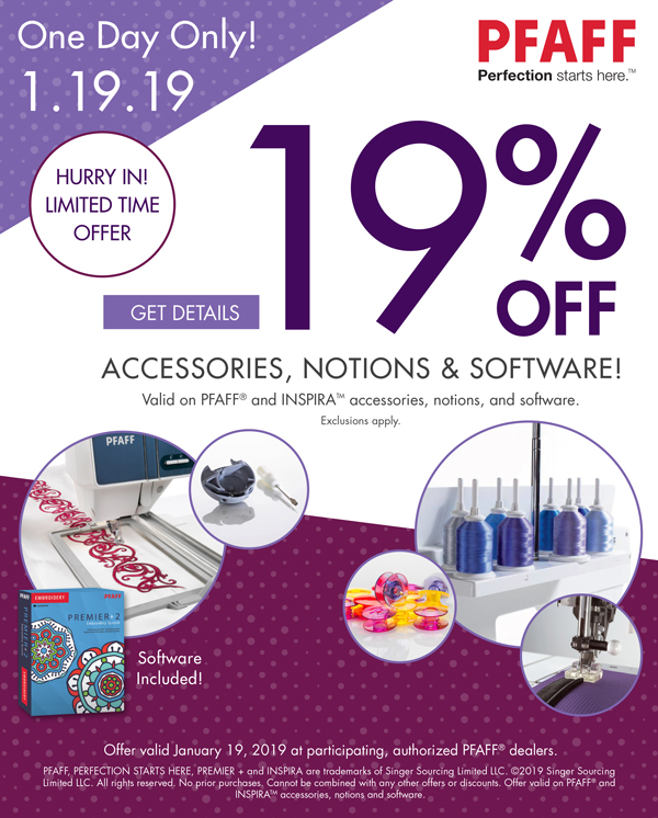 January 2019 - One Day Accessories Sale