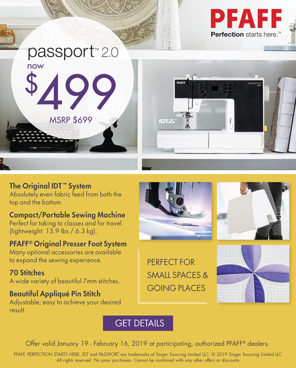 January 2019 - Passport Special Pricing