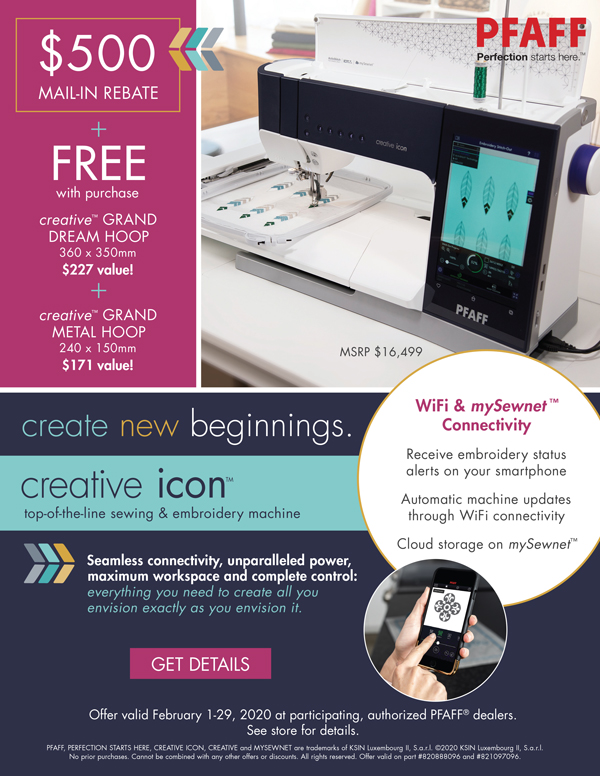 February 2020 - creative icon rebate