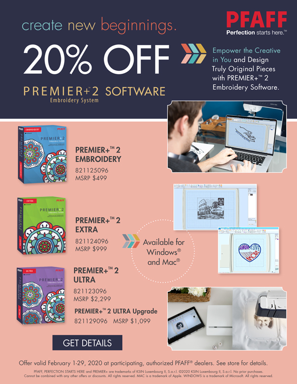 February 2020 - premier software sale